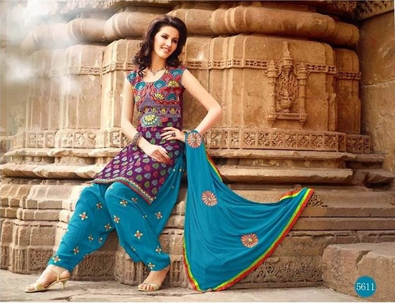 lohri-collection-blue-purple-patiala-suit