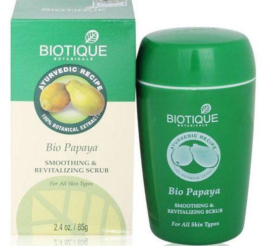 Biotique Bio Papaya Smoothing and Revitalizing Scrub
