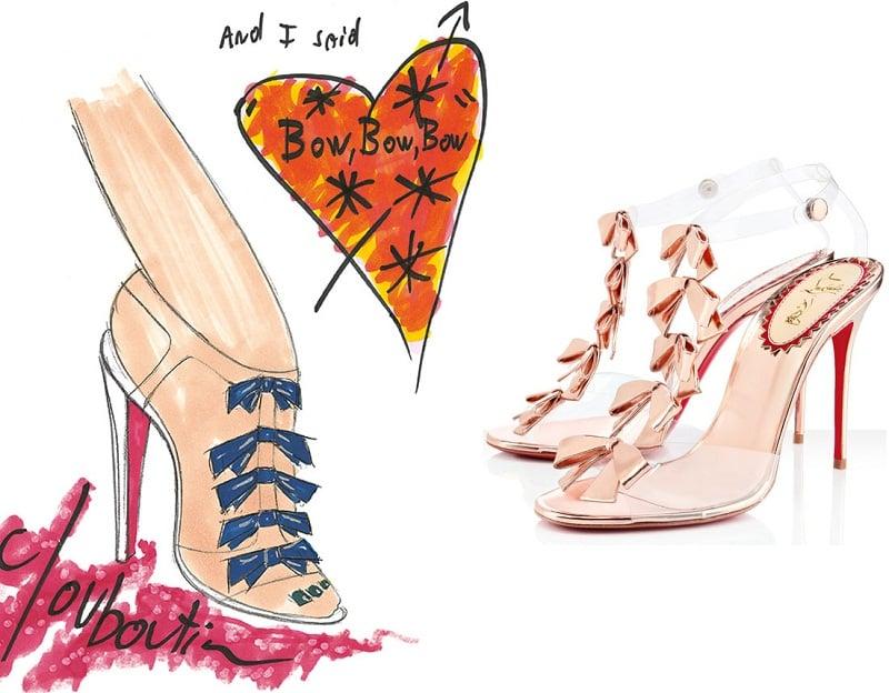 Christian Louboutin Bow Sandals