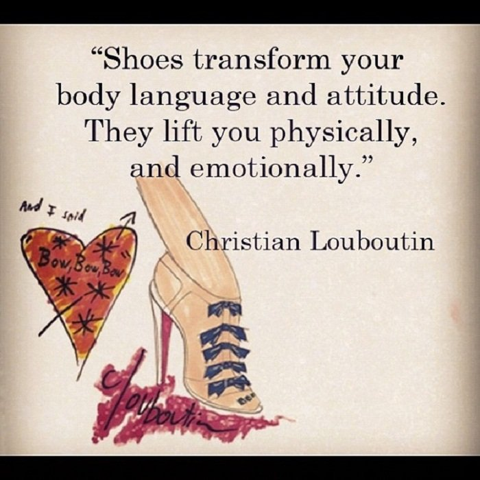 Old School Fashion Quotes: Christian Louboutin 20th Anniversary Capsule Collections