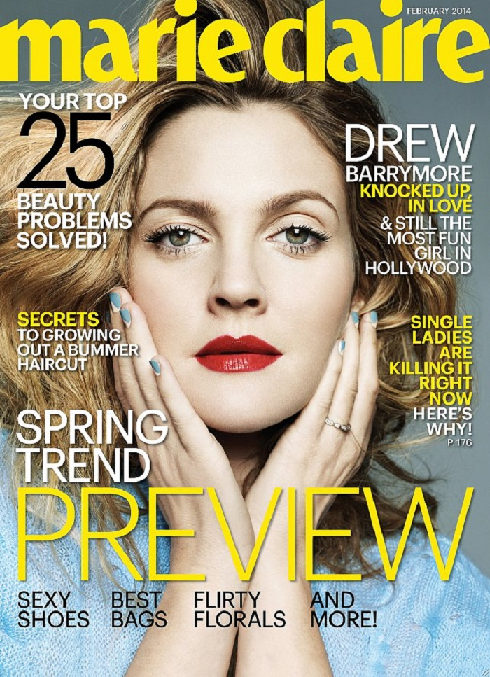 Drew-Barrymore-Marie-Claire-February-2014