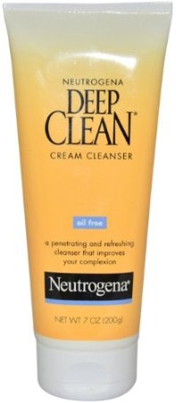 Neutrogena Deep Clean Cream Cleanser and Biotique Cucumber Water