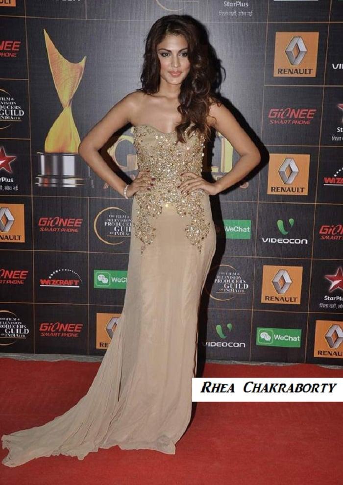 Rhea-Chakraborty-star-guild-awards-2014