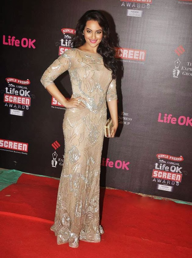 Sonakshi-Sinha-at-the-20th-Annual-Life-Ok-Screen-Awards-2014
