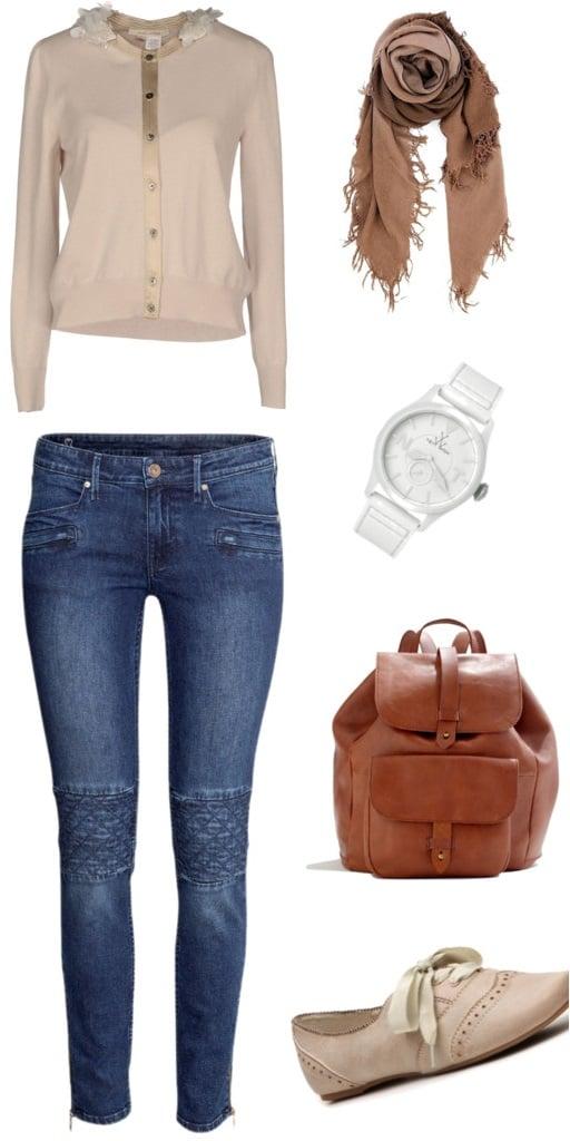 ankle lengt jeans capri