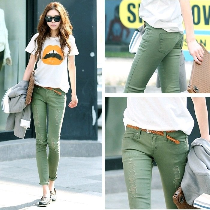 ankle length trousers fashion