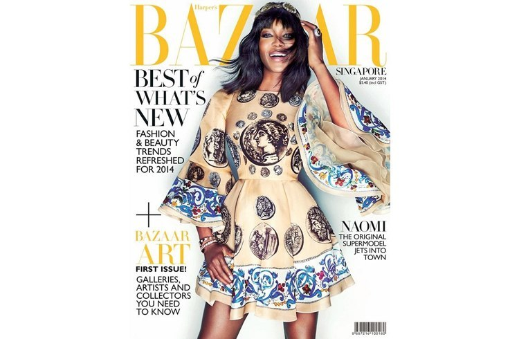 Bazaar magazine cover