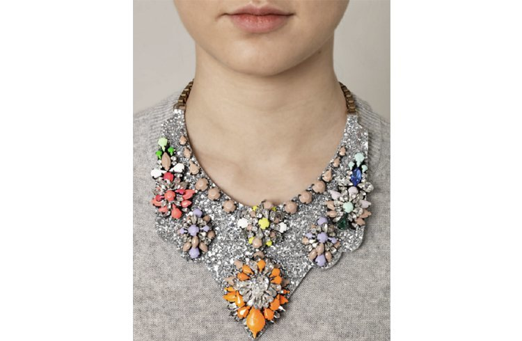 Collar necklaces