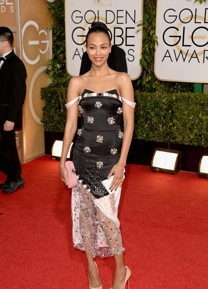 zoe-saldana-globen-globes-2014-red-carpet-03