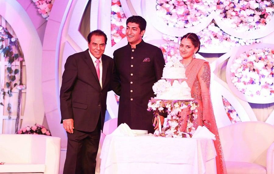 Ahana-Wedding-Reception-wedding-cake