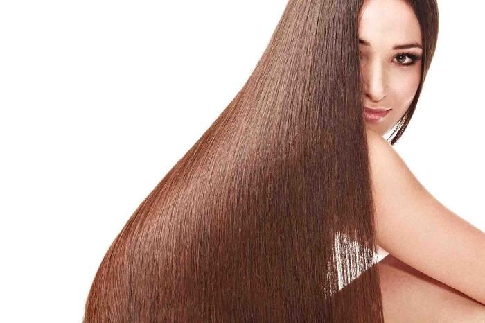 Long straight hair porn
