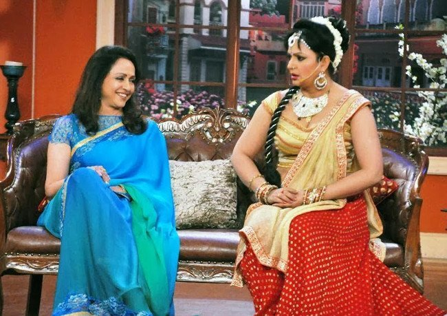 Hema Malini Comedy Nights Kapil