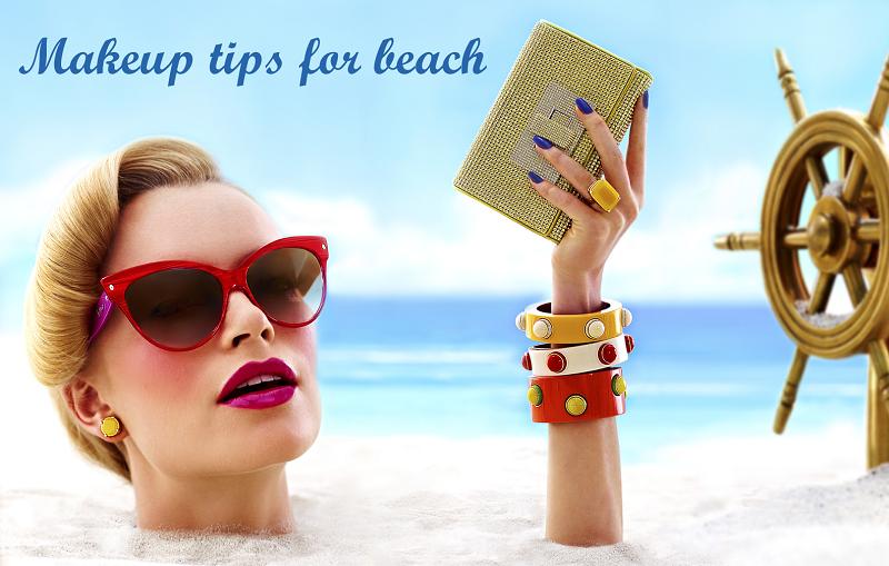 makeup-tips-for-beach
