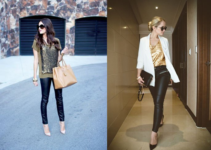 Leggings as pants trend