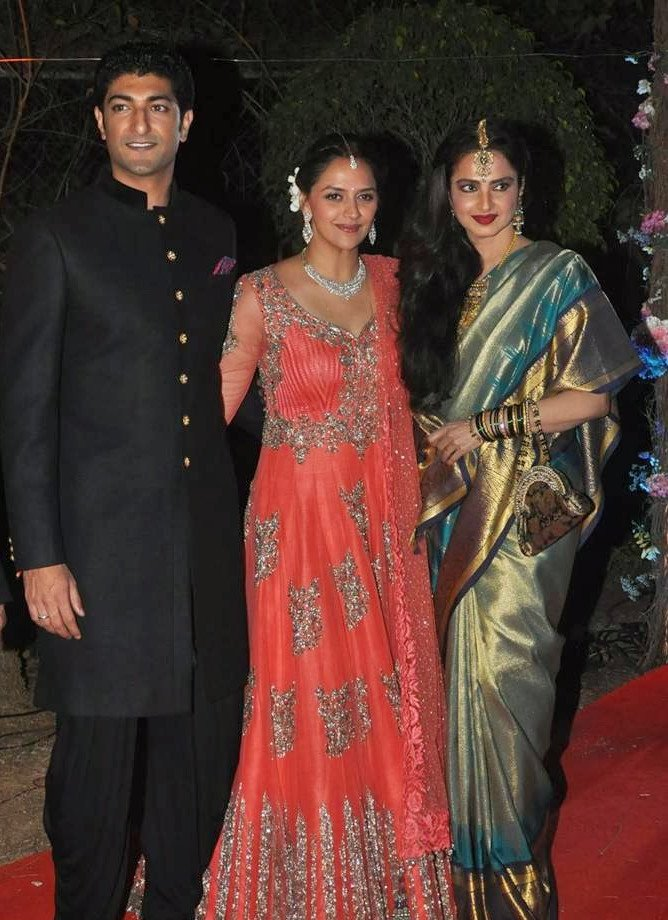 Rekha Ahana Deol Wedding