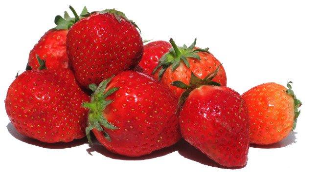 Strawberries beauty skin