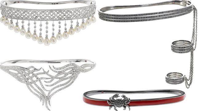 gold cuff and bracelet
