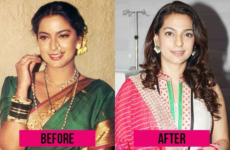 Juhi Chawla Now and Then