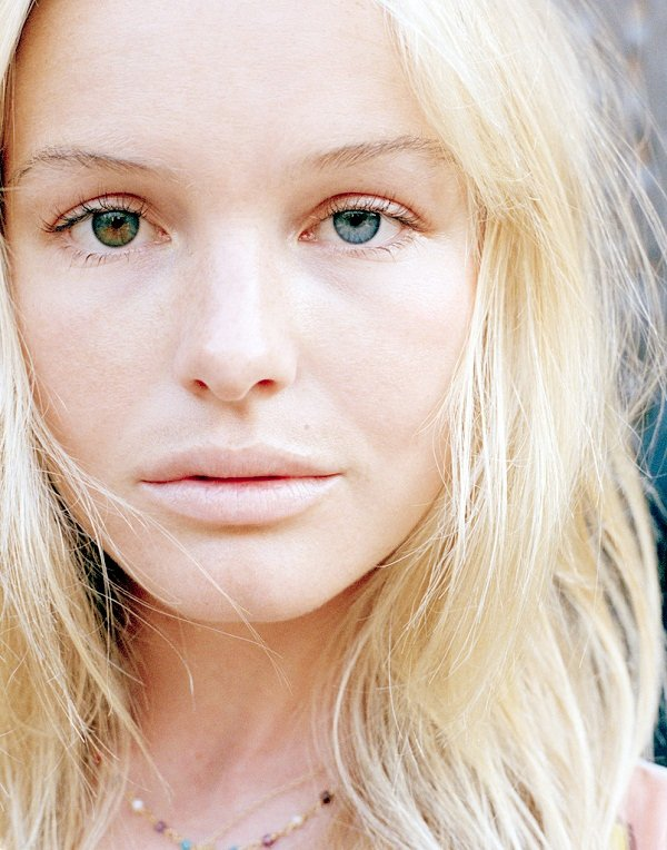 Kate Bosworth with different eye colors