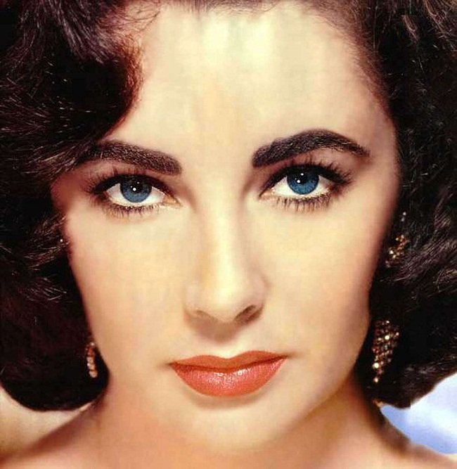 liz taylor double layer lashes