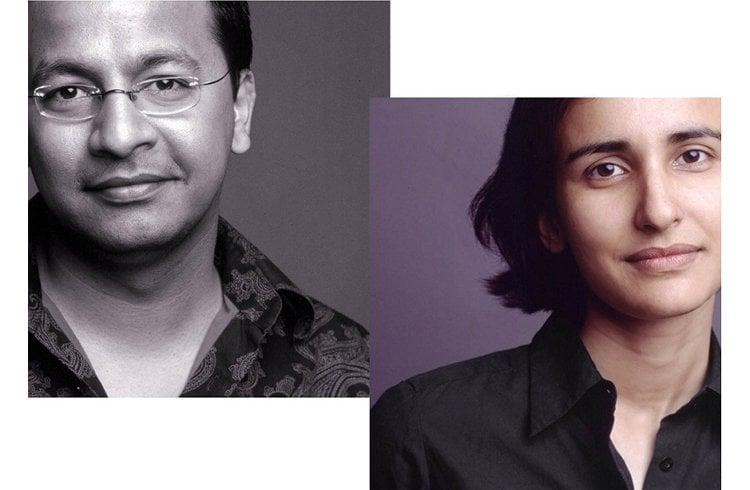 Designers Paras and Shalini