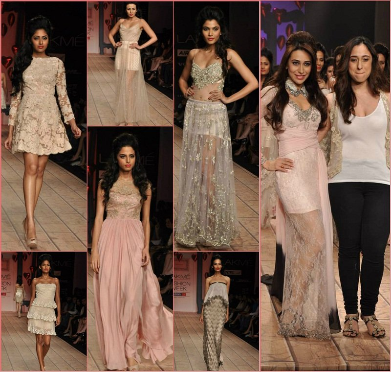India Lakme Fashion Show shehla khan lakme fashion week