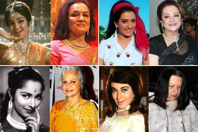 Yesteryear Bollywood Actresses Then and Now