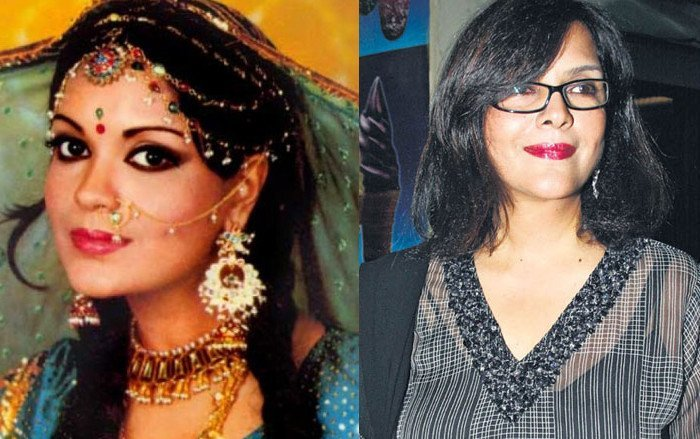 zeenat aman then and now