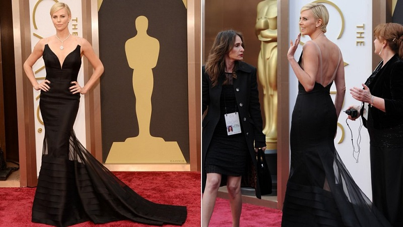 charlize-theron-oscars-2014-red-carpet