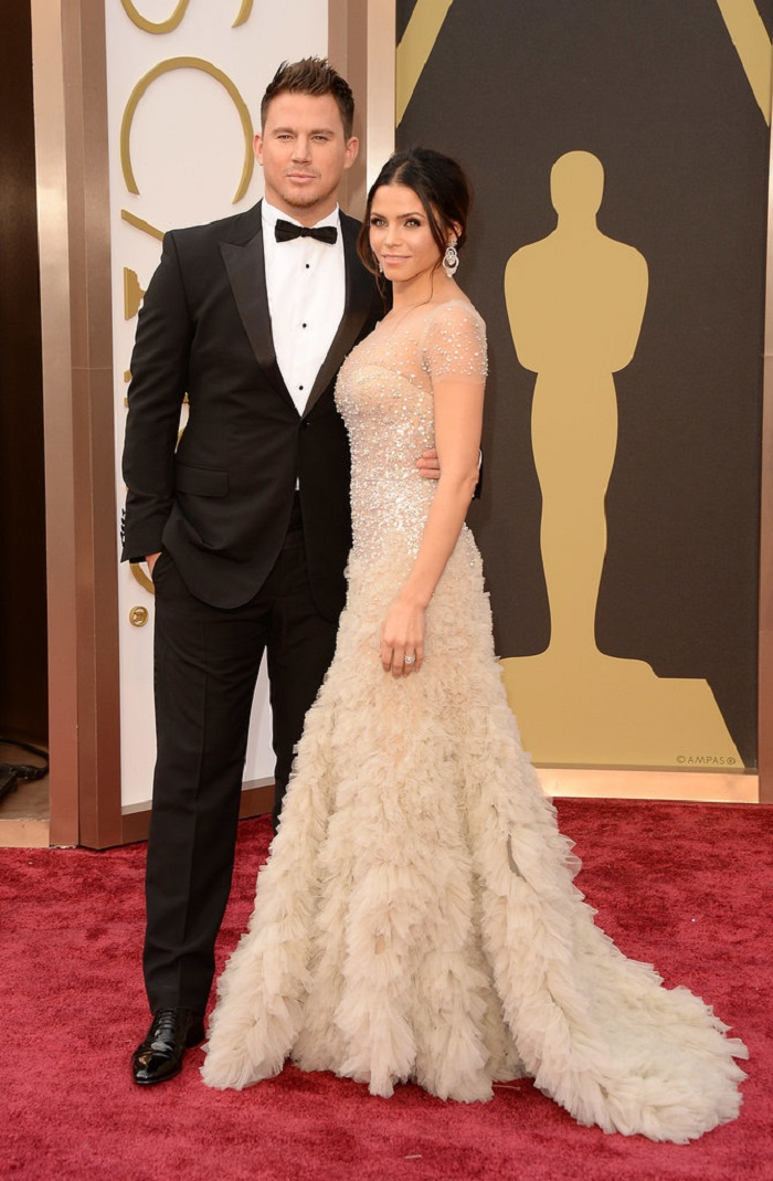 Channing-Tatum-Jenna-Dewan-Tatum-oscars-red-carpet-2014