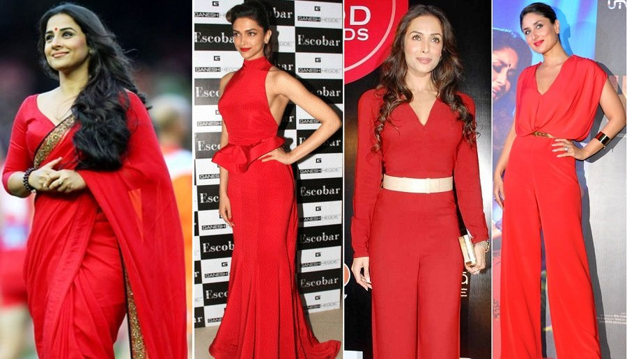 bollywood-actress-in-red