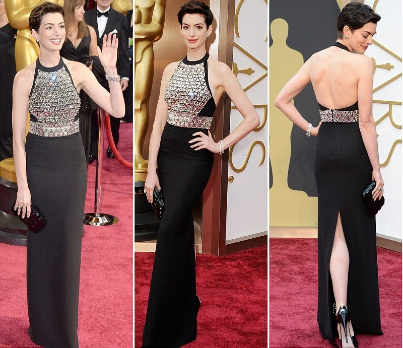 anne-hathaway-oscars-2014-red-carpet