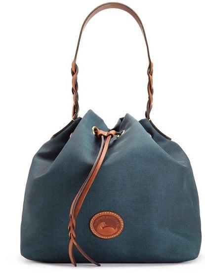 bucket-bagsdooney-burke-navy-purse