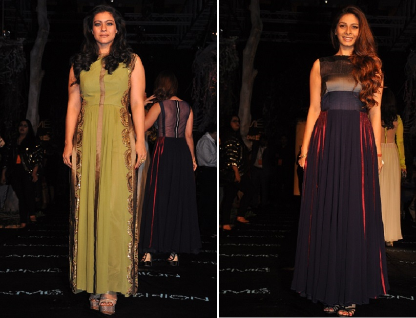 kajol-tanisha-lfw-summer-resort-2014