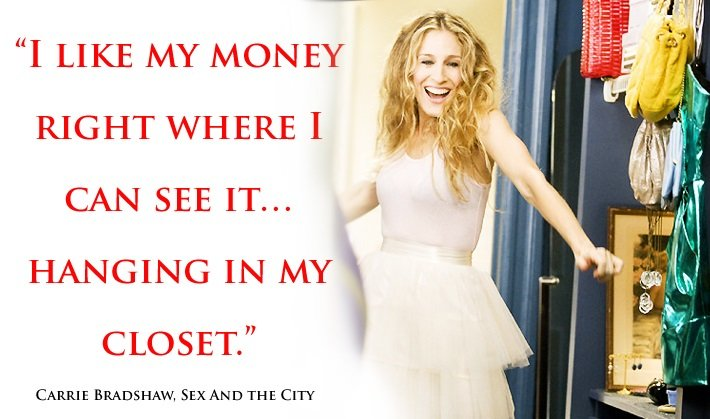 Carrie Bradshaw A Woman S Right To Shoes Quotes