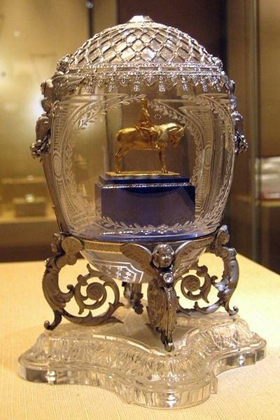 Faberge-Alexander-III-Equestrian-Egg
