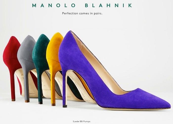 The Classic Manolo Blahnik s Stiletto Heels