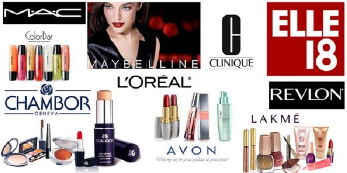 top 10 makeup brands india