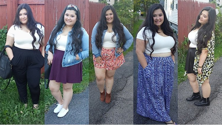 Crop Tops For Plus Size