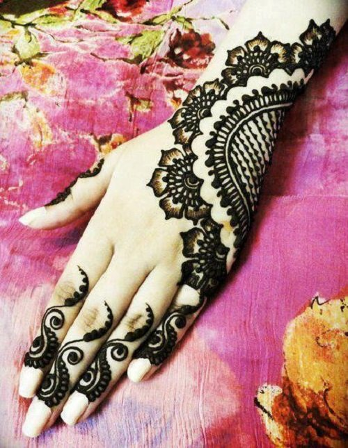 New Mehndi Patterns : Simple and easy mehndi designs for beginners step by