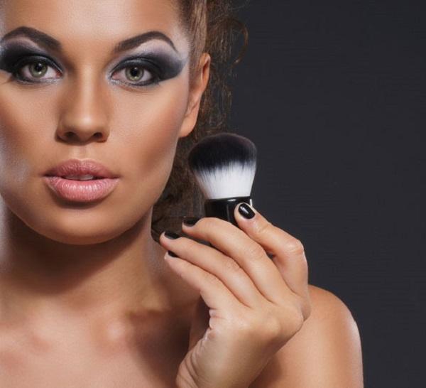 attractive-dark-skinned-woman-with-brush