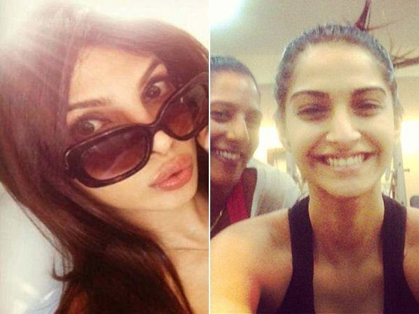 15 Best Selfies of Pakistani Celebrities with Bollywood Stars