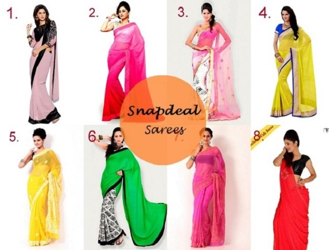 Best Farewell Sarees from Snapdeal for College Graduates