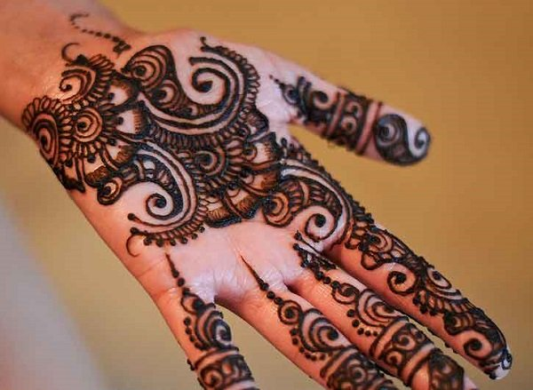 Simple Mehandi Designs For beginner
