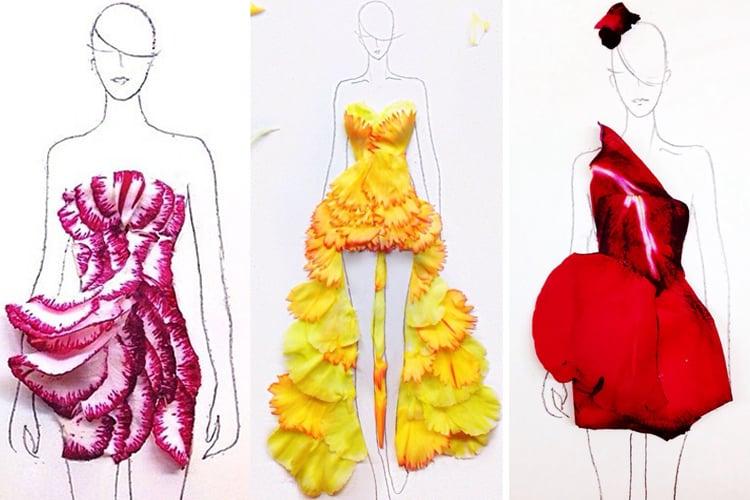 Floral Fashion Illustrations
