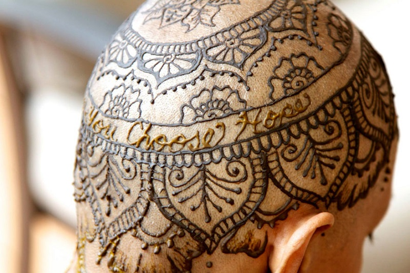 Mehndi Patterns For Shoulder : Mehndi designs: therapeutic style dose for cancer patients