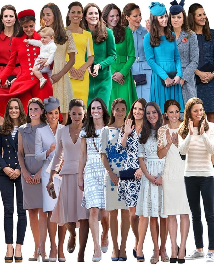 Kate Middleton Royal Tour 24 Outfits In 19 Days