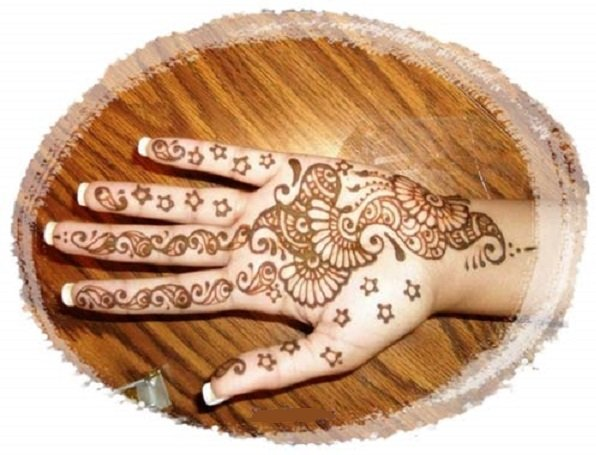 Simple Mehendi Designs to try