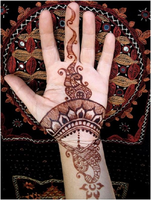 Simple Mehendi Designs