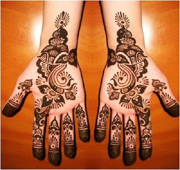 very Simple Arabic Mehndi Designs For Hands For Beginners